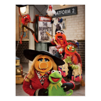 The Muppets Most Wanted Photo 1 Postcard