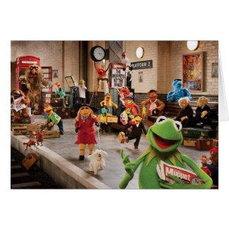 The Muppets Most Wanted Photo 2 Greeting Card