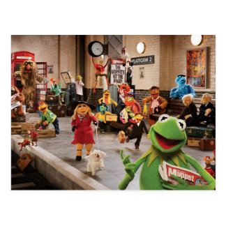 The Muppets Most Wanted Photo 2 Postcard