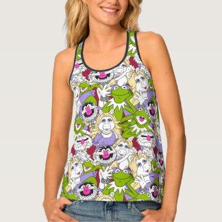 The Muppets | Oversized Pattern Tank Top