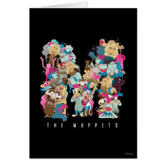 The Muppets | The Muppets Monogram Greeting Card
