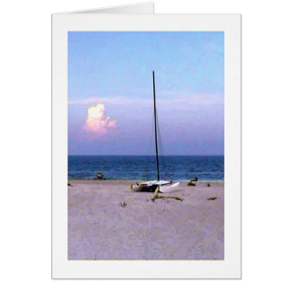 The MUSEUM Artiist Series jGibney Sailing Greeting Card