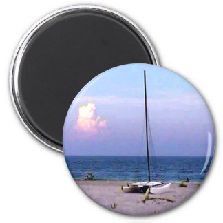 The MUSEUM Artiist Series jGibney Sailing Magnet