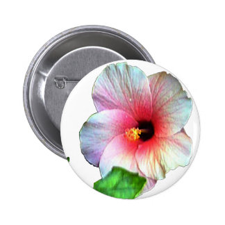 The MUSEUM Artist Series by jGibney Hibiscus1 Pinback Button