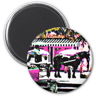 The MUSEUM Artist Series by jGibney  Together2 Magnet