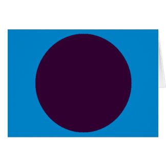 The MUSEUM Artist Series CyanHexacromecSqCircleTra Card