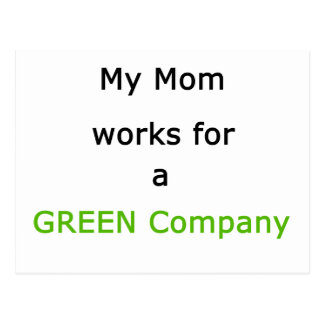 The MUSEUM Artist Series gibsphotoart My Mom Green Postcard
