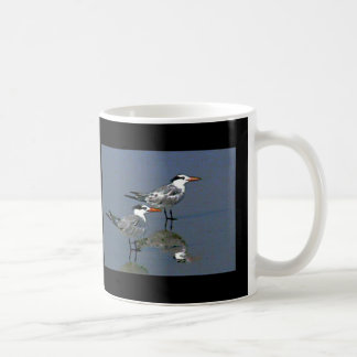 The MUSEUM Artist Series jGibney Birds2CocoaBeach1 Classic White Coffee Mug