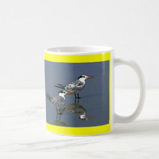 The MUSEUM Artist Series jGibney Birds2CocoaBeach1 Coffee Mugs