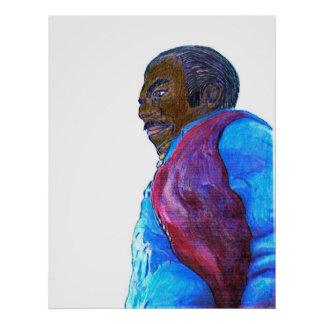 The MUSEUM Artist Series jGibney Dancer Male Poster