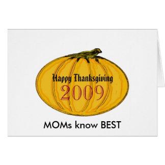 The MUSEUM Artist Series jGibney MOMS pumpkin7 Greeting Cards