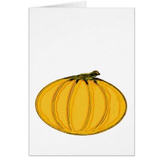 The MUSEUM Artist Series jGibney pumpkin7tc100 Greeting Card