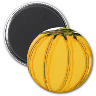 The MUSEUM Artist Series jGibney pumpkin7tc100 Fridge Magnet