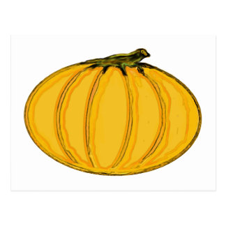 The MUSEUM Artist Series jGibney pumpkin7tc100 Postcard