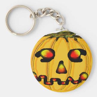 The MUSEUM Artist Series jGibney Pumpkinfirey Key Chain