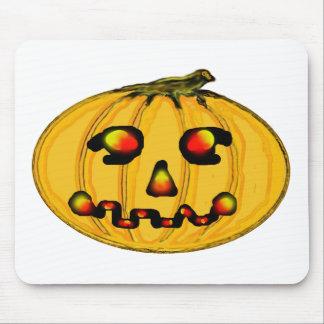 The MUSEUM Artist Series jGibney Pumpkinfirey Mouse Pad
