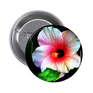 The MUSEUM Artitst Series jGibney Hibiscus72 Buttons