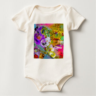 The music can express everything and say nothing. baby bodysuit