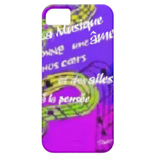 The music give us more than we knew iPhone 5 case