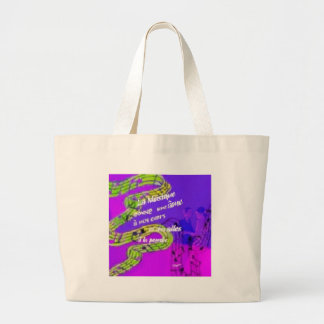 The music give us more than we knew large tote bag