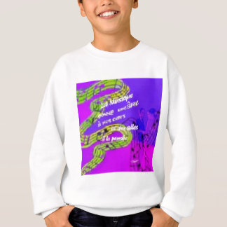 The music give us more than we knew sweatshirt