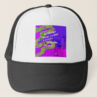 The music give us more than we knew trucker hat