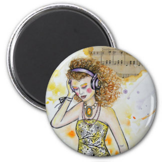 The Music in Me Magnet