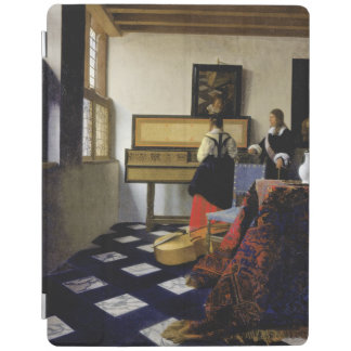 The Music Lesson by Johannes Vermeer iPad Cover