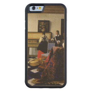 The Music Lesson by Johannes Vermeer Maple iPhone 6 Bumper Case