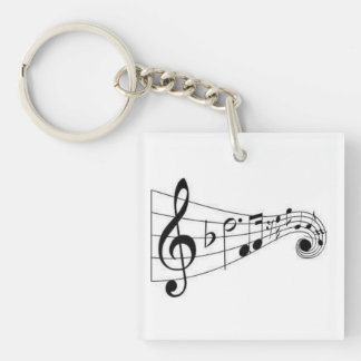 THE MUSIC LOVER'S KEYCHAIN