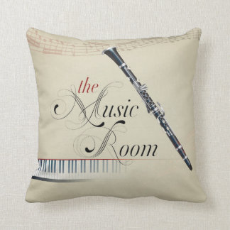 the music room 4 throw pillow