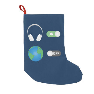 The Music Switch Small Christmas Stocking