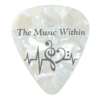 The Music Within Guitar Pick