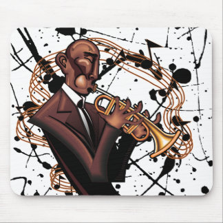 The Musical Jazz Sound Mousepad