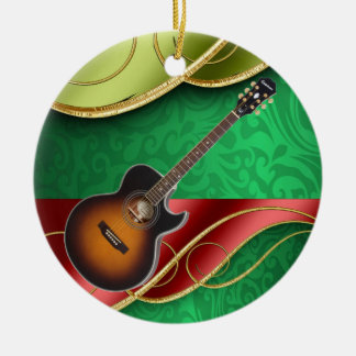 The Musician Ceramic Ornament