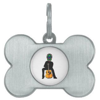 The Musician Pet Tag