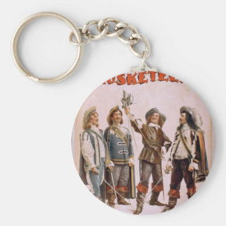 The Musketeers, 'Paul Gilmore' Retro Theater Basic Round Button Keychain