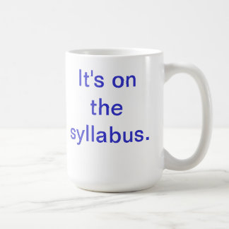 The Must-Have for Every Professor!! Coffee Mug