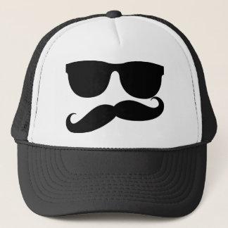 The Mustache Man Trucker Hat
