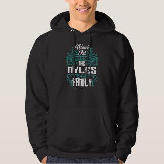 The MYLES Family. Gift Birthday Hoodie