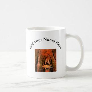 The mysrical cave basic white mug