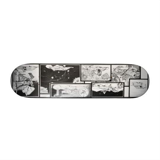 The Mysterious Custom Skate Board