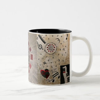 The Mystery is in the Creation (Mug) Two-Tone Coffee Mug