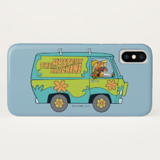 The Mystery Machine Shot 13 iPhone X Case