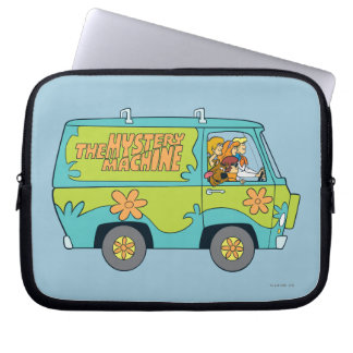 The Mystery Machine Shot 13 Laptop Sleeve