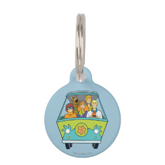 The Mystery Machine Shot 16 Pet ID Tag