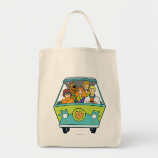 The Mystery Machine Shot 16 Tote Bag