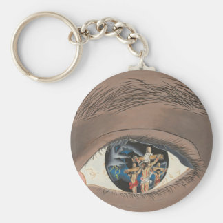 The Mystery of Christ Basic Round Button Keychain