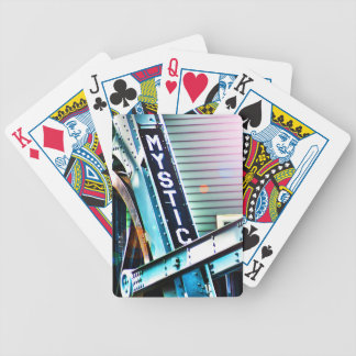 The Mystic River Drawbridge As I See It Bicycle Playing Cards