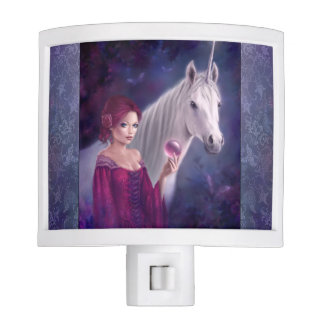 The Mystic Unicorn Art Night Light